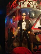 Tomb Raider Lara Croft In Motorcycle Gear by Playmates Brand-new