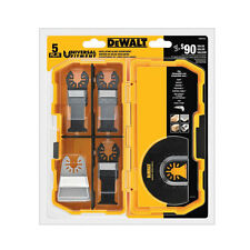 DEWALT DWA4216 Oscillating Blade Set (5-Piece)