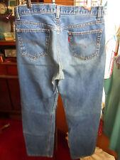 34x31 Fit True Vtg 1999 Classic Fade Levis 501 Buttonfly Mens Denim Relic Jeans