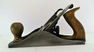 """Vintage Stanley 4.1/2"""" Smoothing Plane tool box find beautiful Item as found"""