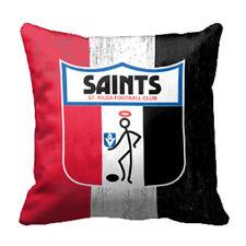 St Kilda Saints AFL Cushion Canvas fabric indoor outdoor Pillow Christmas Gift