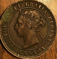 1897 CANADA LARGE CENT PENNY LARGE 1 CENT - Excellent example!