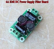 6A EMI DC Power Supply Filter Board Für Car Speaker Power Amplifier Filtering