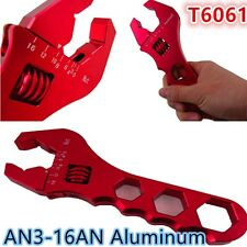 An3-16 aluminium clé réglable anodisé clé AN3-16 Montage outils rouge