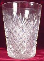 Pineapple & Fan Crystal Tumbler EAPG Clear Glass Antique A Beauty