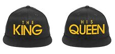 The KING His QUEEN Snapback Hats King Queen Snapbacks Couple Caps
