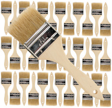 36 Pk- 2 1/2 inch Chip Paint Brushes for Paint, Stains,Varnishes,Glues,Gesso