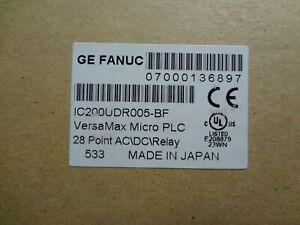 NEW PLC GE Fanuc IC200UDR005  VersaMax Micro Controller