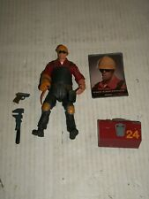"NECA Team Fortress 2 RED ENGINEER Figure 7"" LOOSE"