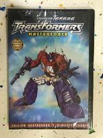 Transformers DVD Nuovo Sigillato Masterforce Collezione Takara Episodi 44 - 47