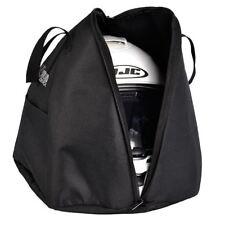 Oxford Lidsack Helmet Bag Motorcycle Motorbike Black Waterproof New