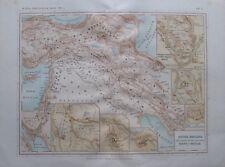 Assyria Baylonia - alte Landkarte aus 1906 old map