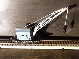 MARKLIN H0 4611 CRANE WAGON 1950s WITH EARLY WIDE COUPLING