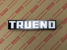 TOYOTA JDM AE86 Corolla Trueno Front Bumper Emblem KOUKI TRD