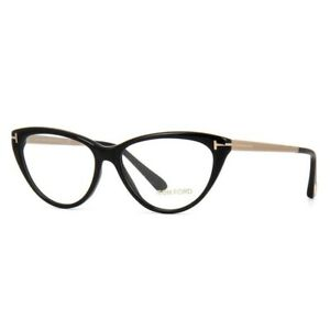 TOM FORD Eyeglasses TF5354-001-53 Size 53mm/14mm/Cat Eye BRAND NEW W CASE