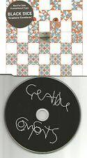 BLACK DICE Creature Comforts EUROPE ADVNCE PROMO DJ CD Slimline Package USA MINT