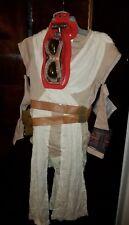 Disney Store NWT Halloween Costume 7 8 Rey Star Wars Force Awakens Deluxe