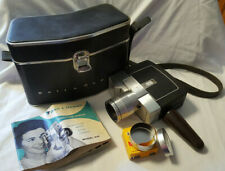 Bell & Howell Duo Speed Zoomatic 8mm Video Camera Model 416