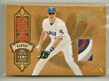 Mark Teixeira 2005 Leather & Lumber PRIME 4 color GU Patch #'d 4/5 - RANGERS