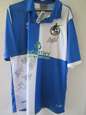Bristol Rovers 2011-2012 Squad Signed Home Football Shirt COA BNWT  /13223
