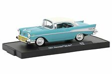 M2 MACHINES AUTO-DRIVERS 1957 CHEVROLET BEL AIR DIE CAST CAR TRUCK TOYS 1:64 USA