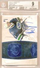 Roberto Luongo Graded 2010-11 Panini Dominion Signatures Sapphire 02/10 9 Mint
