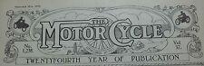 GebundeneAusgabe The Motorcycle von 1/1927 6/1927  ETWAS GANZ BESONDERES Sammler