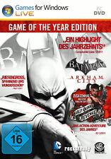 Batman: Arkham City-GOTY Edition (PC, 2012, Steam Key Download Code) non DVD