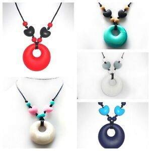 New Lily Bear Silicone Baby Teething & Breastfeeding Pendant Necklace Non Toxic