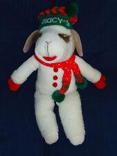 "22"" Macy's stuffed Lamb Chop plush Toy"