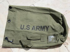 U.S. Army Seesack Canvas Duffle Bag Oliv US Navy USMC Marines Vietnam Korea