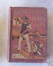 OLD Book Swiss Family Robinson b Kingston - David McKay