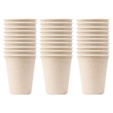 3x 10PK Eco Basics Biodegradable Disposable Sugarcane 260ml Party Cups Drinkware