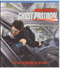 MISSION IMPOSSIBLE GHOST PROTOCOL (Blu-ray Only, 2012)