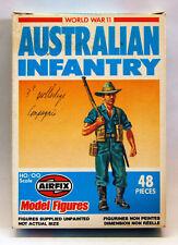 Airfix 9 01750-1, W.W. II, Australian Infantry, 48 Teile kplt, OVP, 1981, selten