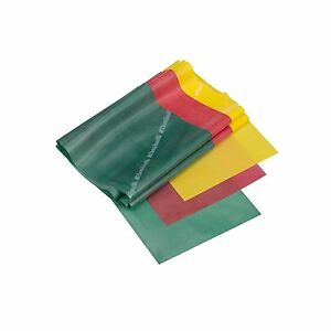 Theraband Professional Latex Resistance Bands-5FT-Yellow/Red/Green -Beginner Set