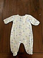 Vintage Baby Boy One Piece Pajama Oshkosh 12 Months