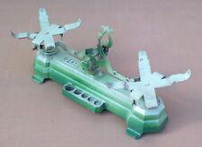 Ancien jouet balance JEP fonte & métal vert vintage jeu enfant marchande #2