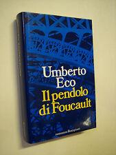 ECO, Umberto: IL PENDOLO DI FOUCAULT, Bompiani 1988, 1a edizione