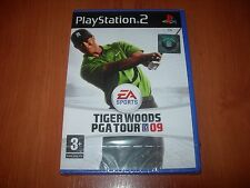 Tiger Woods PGA Tour 09 de EA Sports para la Sony PS2 usado completo