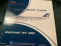 B747-400 CATHAY PACIFIC CARGO B-HUL BBOX  1/200 RARE  POLISHED
