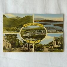 VINTAGE POSTCARD ALLOA, SCOTLAND Greetings From Alloa - General views 1960s