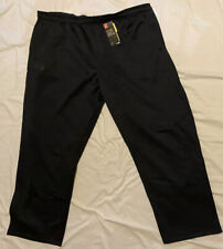 NEW! UNDER ARMOUR UA Straight Leg Storm Pants Mens Big 4X 4XL Black NWT!