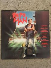 Repo Man 1984 Original Soundtrack Punk Rock The Plugz Fear Black Flag