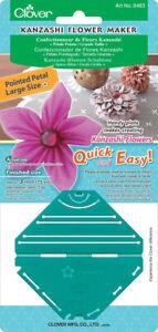 Clover Kanzashi Flower Maker-Pointed Petal Large -8483