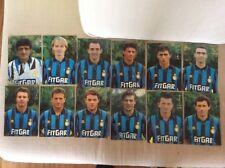 INTER CALCIO 12 CARTOLINE UFFICIALI 91/92 FITGAR BERGOMI DESIDERI BAGGIO BARESI