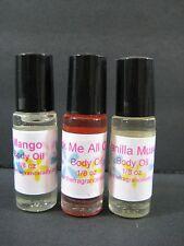 PATCHOULI Perfume Body Oil Fragrance Oil 1/8 oz Roll On One Bottle