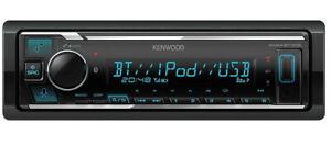 Kenwood KMM-BT306 Bluetooth USB MP3 Digital Media Receiver Remote 3 Preouts