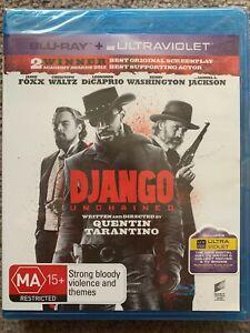 Django Unchained Blu Ray - NEW & SEALED! Blu ray & ultraviolet - Tarantino film