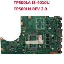 For Asus Tp500L Tp500La Tp500Ln Motherboard W/ I3-4010U Mainboard Test
